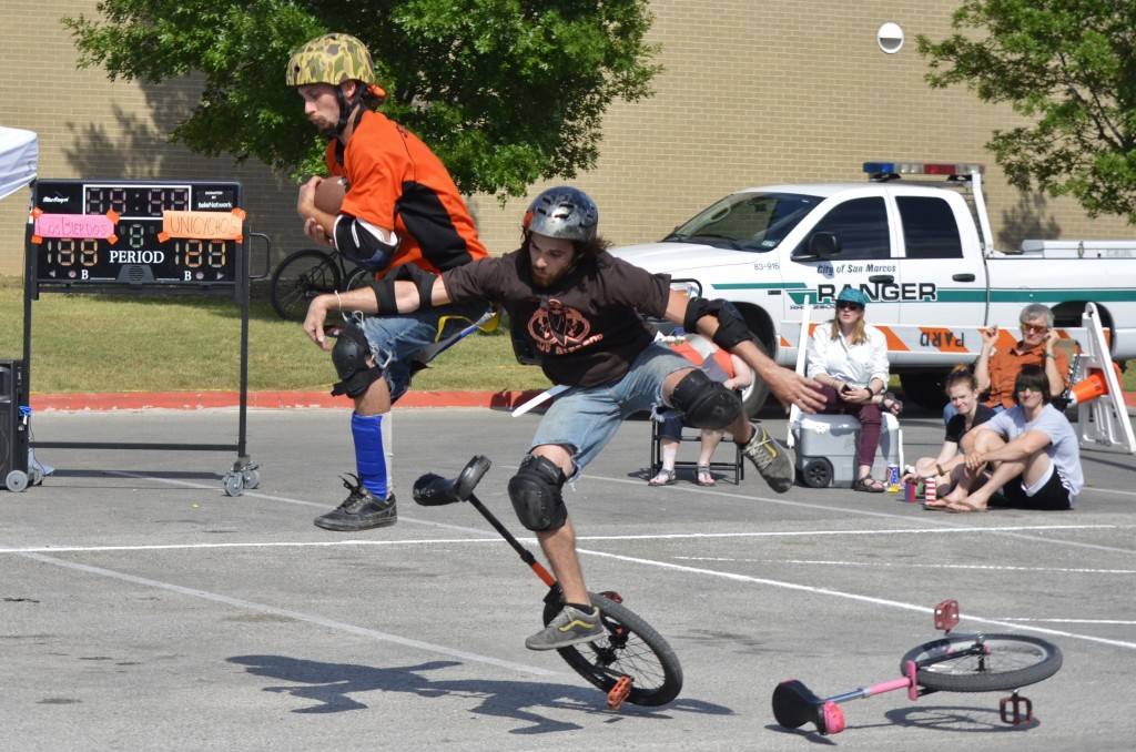 Photos by Scott G. Mitchell |Courtesy Unicycle Football League