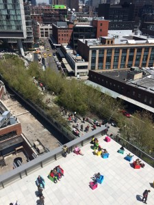 A Whitney terrace feels nearly like part of the High Line