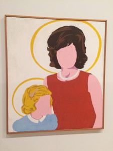 """Madonna and Child,"" by Buffalo-born artist Allan D'Arcangelo"