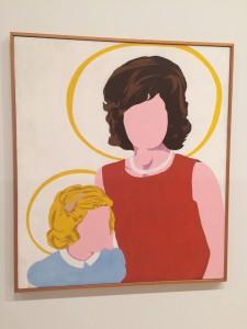 """Madonna and Child,"" by Buffalo-born artist Allan D'Arcangelo"