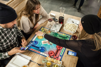 In Toronto Cafes, Board Games Rule by Lynn Freehill-Maye